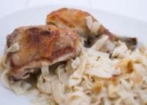 Κοτόπουλο με γιουφκά