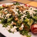 Πράσινη σαλάτα με φέτα