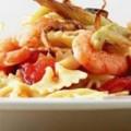 Φαρφάλες με σάλτσα θαλασσινών