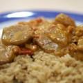 Χοιρινό φιλέτο με ρύζι