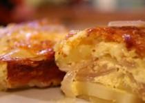 Πατάτες ογκρατέν με τεκίλα