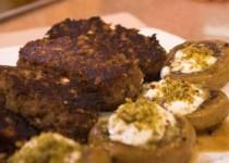 Σουτζουκάκια με μανιτάρια