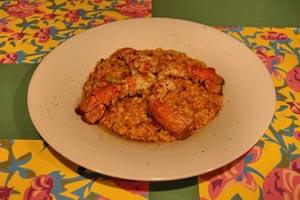 Ριζότο με καραβίδες