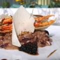 Ριζότο ραντίτσιο με καραβίδες και φουά-γκρα