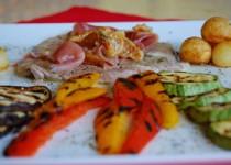 Φιλέτο μοσχαρίσιο με προσούτο και ξερά σύκα