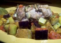 Φιλέτο χοιρινό με σκόρδο και φασκόμηλο