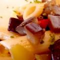 Πέννες με λαχανικά εποχής