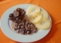Ελάφι με μανιτάρια