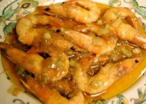 Γαρίδες με μαστίχα