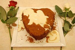 Κέικ σοκολάτας με κρέμα Amaretto