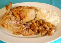 Κοτόπουλο με κάστανα