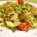Γαρίδες με σάλτσα αβοκάντο