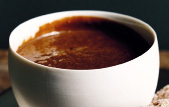 Παχύρευστο ρόφημα σοκολάτας με Κονιάκ