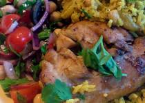 Μαροκινό κοτόπουλο με ελιές