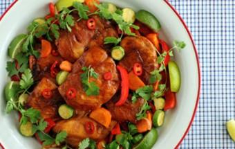 Ασιατικό κοτόπουλο