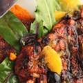 Μαροκινό κοτόπουλο με πουρέ καρότου
