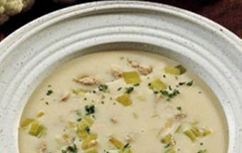 Βελουτέ σούπα κουνουπιδιού