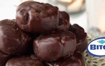 Κουραμπιέδες με σοκολάτα
