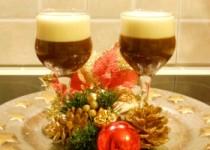 Λευκή και μαύρη σοκολάτα στο ποτήρι!