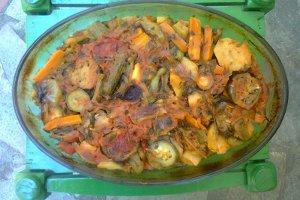 Μπριάμ - τουρλού λαχανικών στο φούρνο