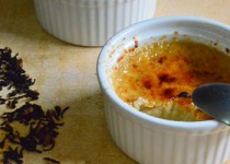 Crème Brûlée με γεύση τσαγιού