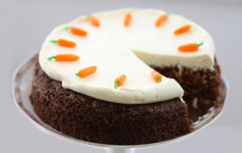 Κέικ καρότου με κρέμα τυριού