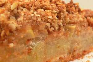 Μηλόπιτα με στραγγιστό γιαούρτι Μεβγάλ