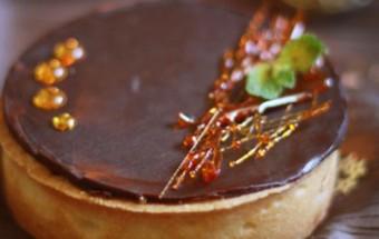 Ταρτάκια καραμέλας με κρεμώδη σοκολάτα και πεκάν