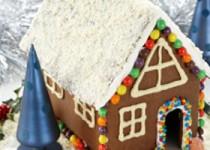 Μπισκοτένιο Χριστουγεννιάτικο Σπίτι