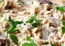 Ριζότο με μανιτάρια