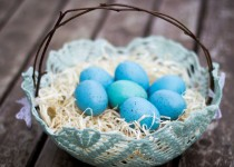Διακοσμητικά καλαθάκια για τα Πασχαλινά αβγά με τη βοήθεια της γιαγιάς!