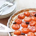 Honey Roasted Apricot Tart with Mascarpone Cream and Star Anise