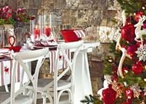 Ιδέες διακόσμησης για το χριστουγεννιάτικο τραπέζι